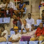 PHOTOS: Fans troop to Cape Coast stadium to watch Black Stars train