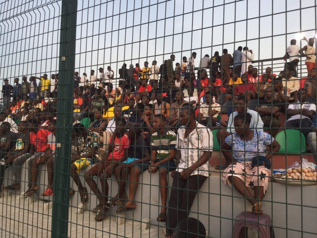 VIDEO: Fans come out in numbers to watch Black Stars train in Madina