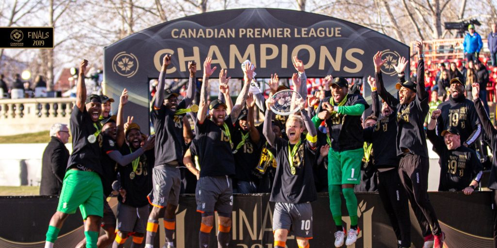 Kwame Awuah wins maiden Canadian Premier League with Forge FC