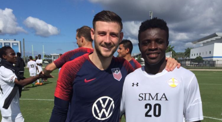 Mirage Football Academy's quartet train with Canada and U.S. men's National teams during Fifa international break