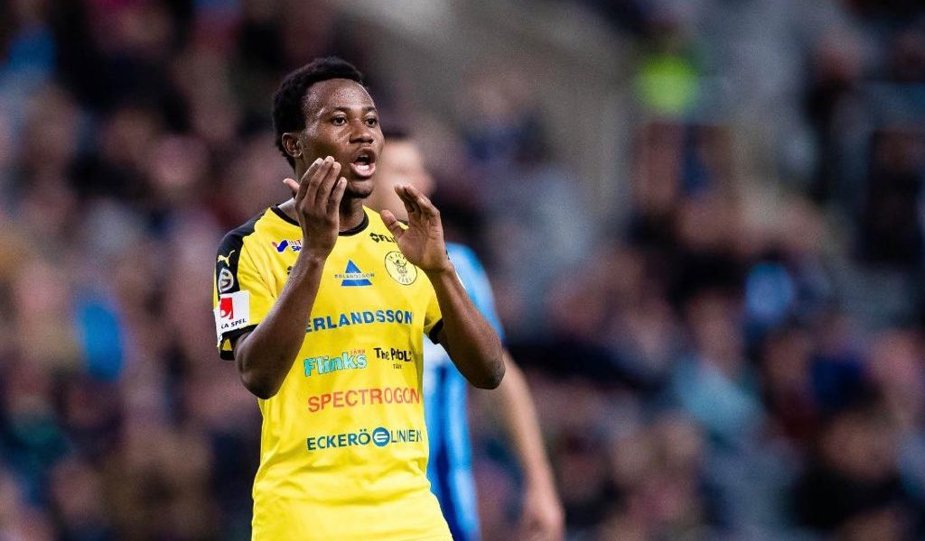 "Abdul Halik ""Rooney"" Hudu grabs last gap win for IK Frej in Superettan League play-off against Umeå FC"