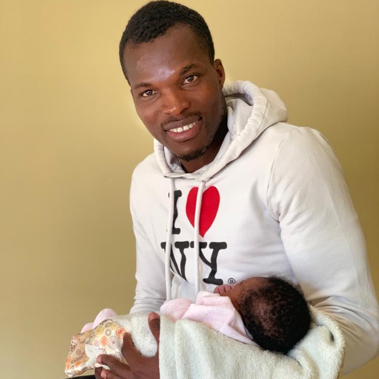 Turkey-based Isaac Cofie becomes father for third time- baby girl christened Brianna Serwaa