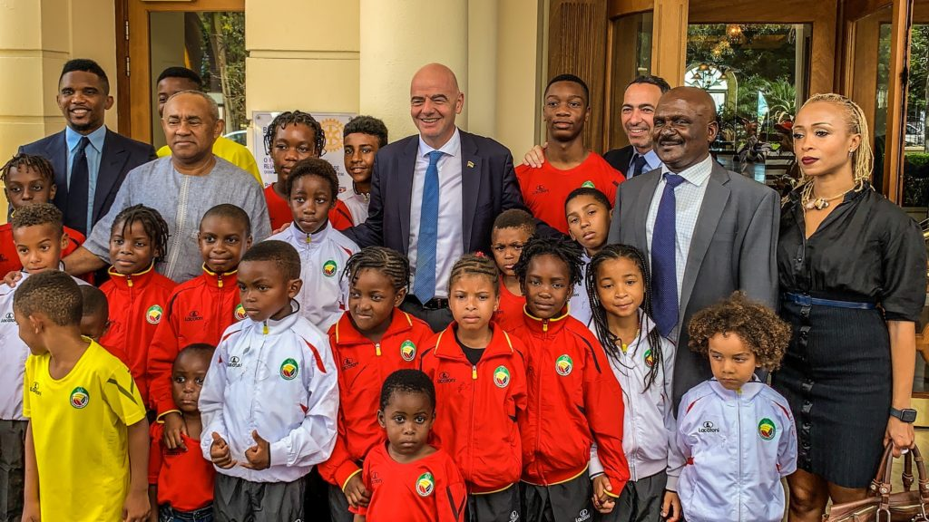 Photos: FIFA President Infantino and CAF boss Ahmad Ahmad complete successful Mozambique tour