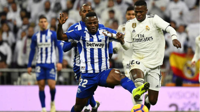 Mubarak Wakaso fourth in list of most tackles won in La Liga after 13 matches