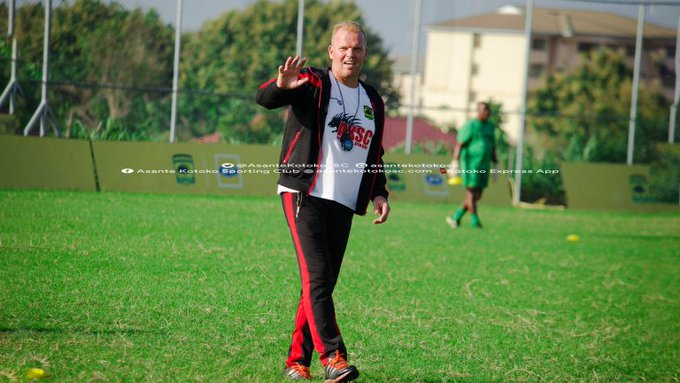 Breaking News: Asante Kotoko terminate contract of Norwegian coach Kjetil Zachariassen