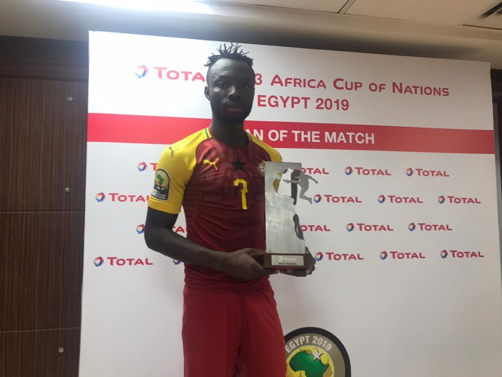 Two goal hero Kwabena Owusu named Man of the Match in Black Meteors win against Mali