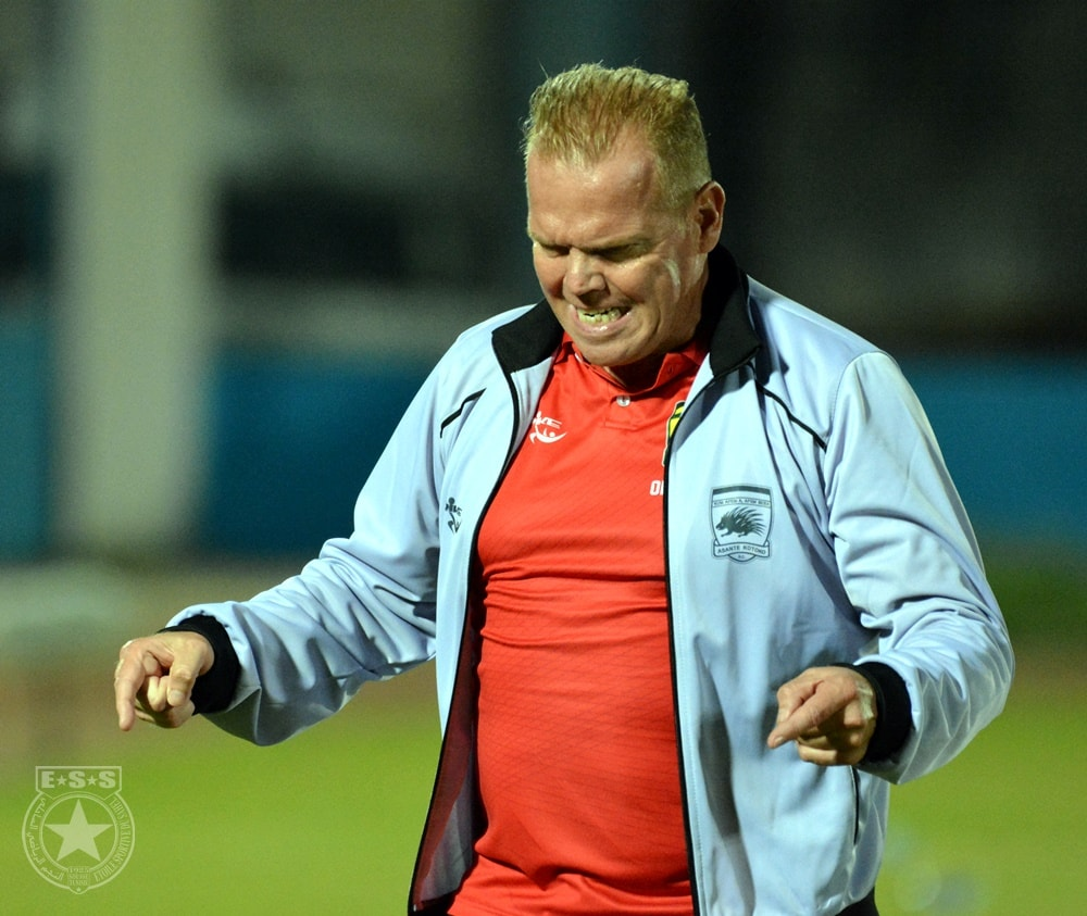 Encircled Kotoko coach Zachariassen arrives in Kumasi for clear-the-air-talks today