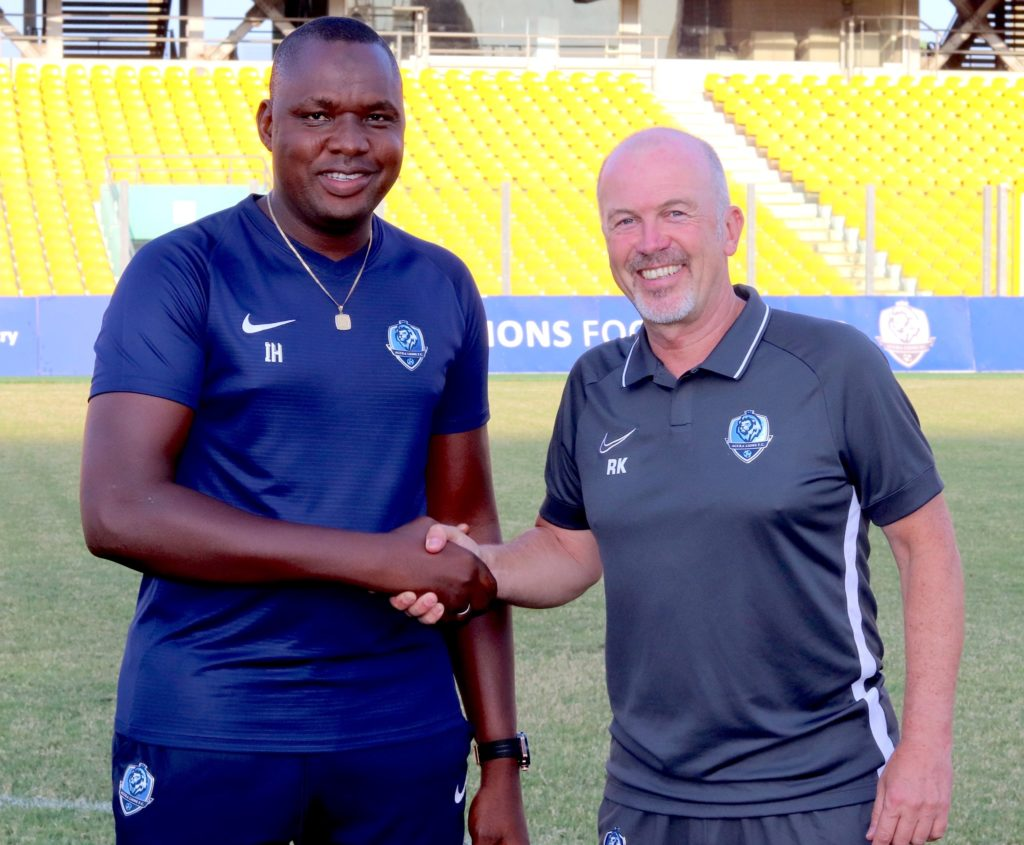 VIDEO: German Rainer Kraft begins work to put Accra Lions FC in top shape
