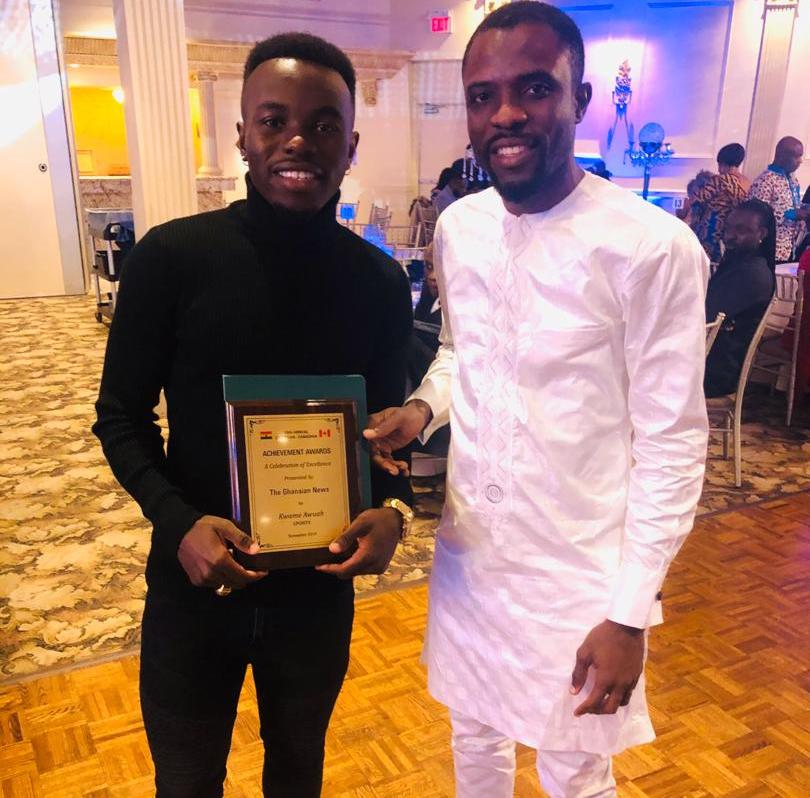 Kwame Awuah: CPL winner honoured at Ghanaian-Canadian Achievement awards