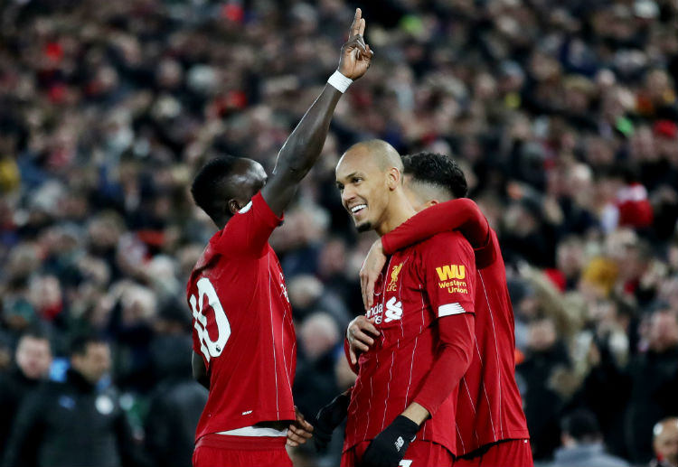 Liverpool sky rocket 9 points clear of Manchester City in weekend clash