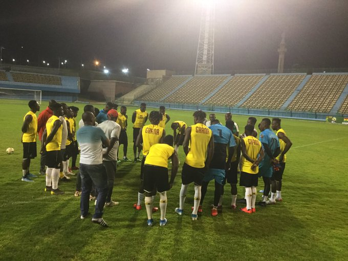 CAF U-23 Cup of Nations: Black Meteors hold first training in Cairo