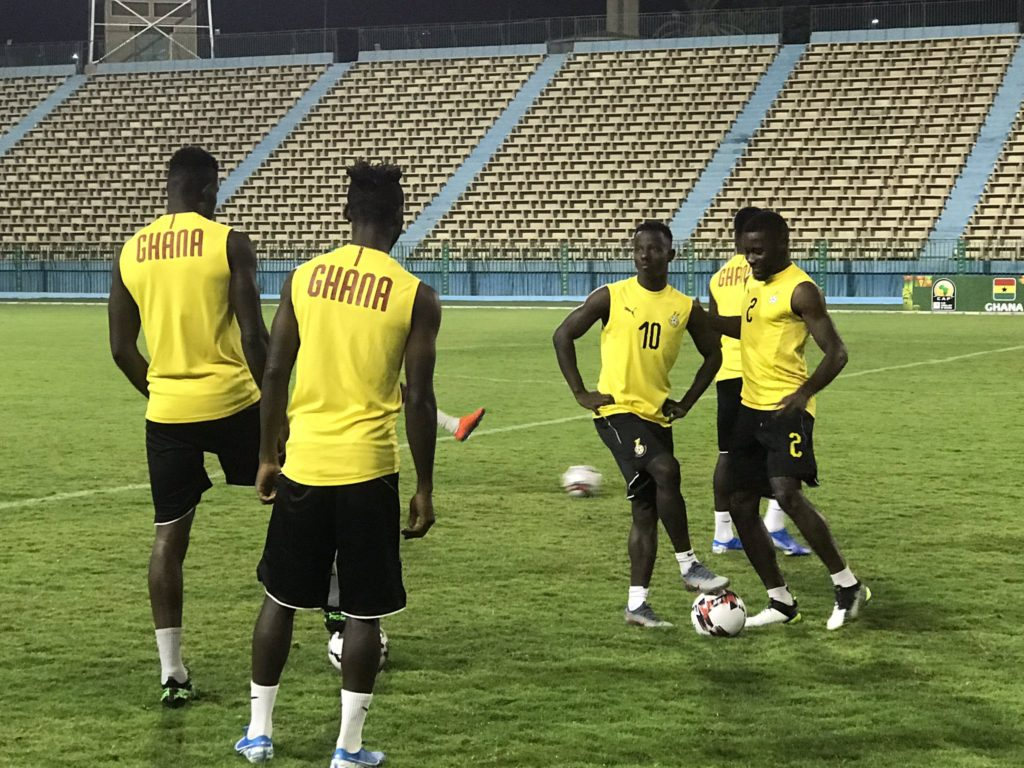 2019 CAF U23 Cup of Nations: Ghana coach Ibrahim Tanko tasks players to dig deep to upend hosts Egypt