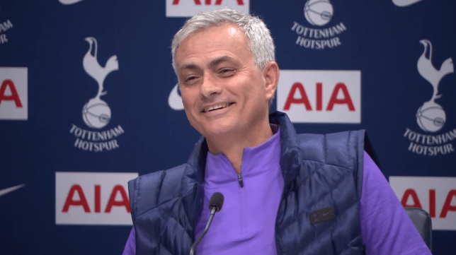 Jose Mourinho has been laughing since he joined Tottenham