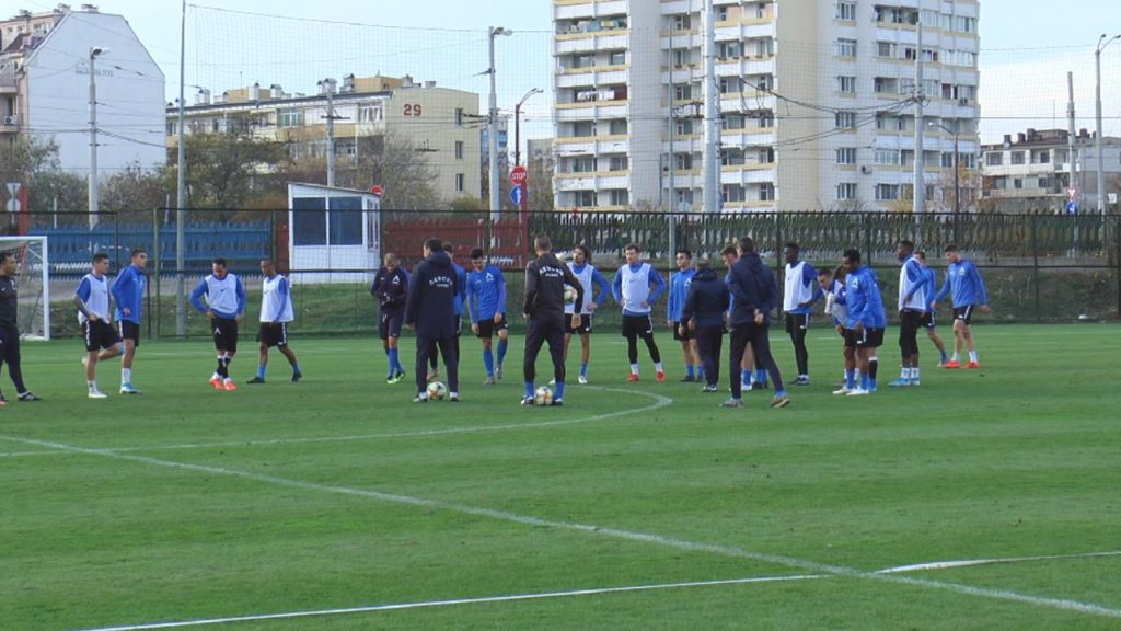 Ghana's Nasiru Mohammed returns to Levski Sofia training after injury recovery