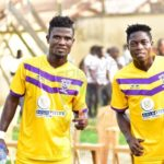 Former Kotoko midfielder Theophilus Nyame training with club as he eyes sensational return