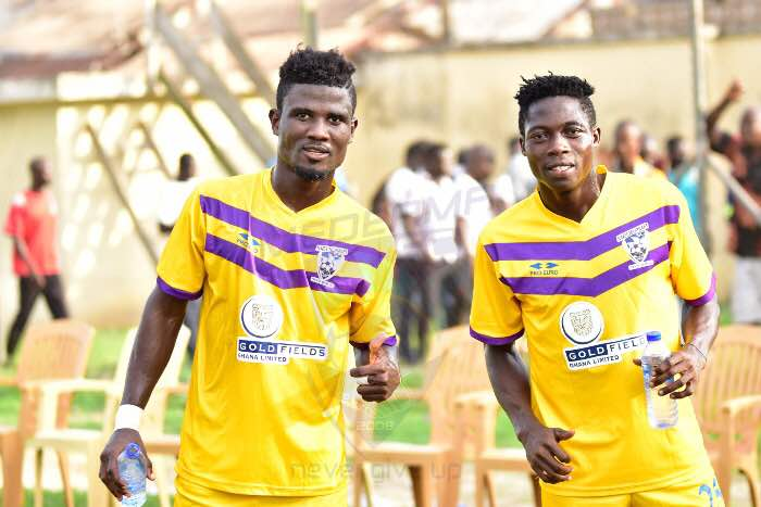 Former Kotoko midfielder Theophilus Nyame training with club as he eyes sensational return