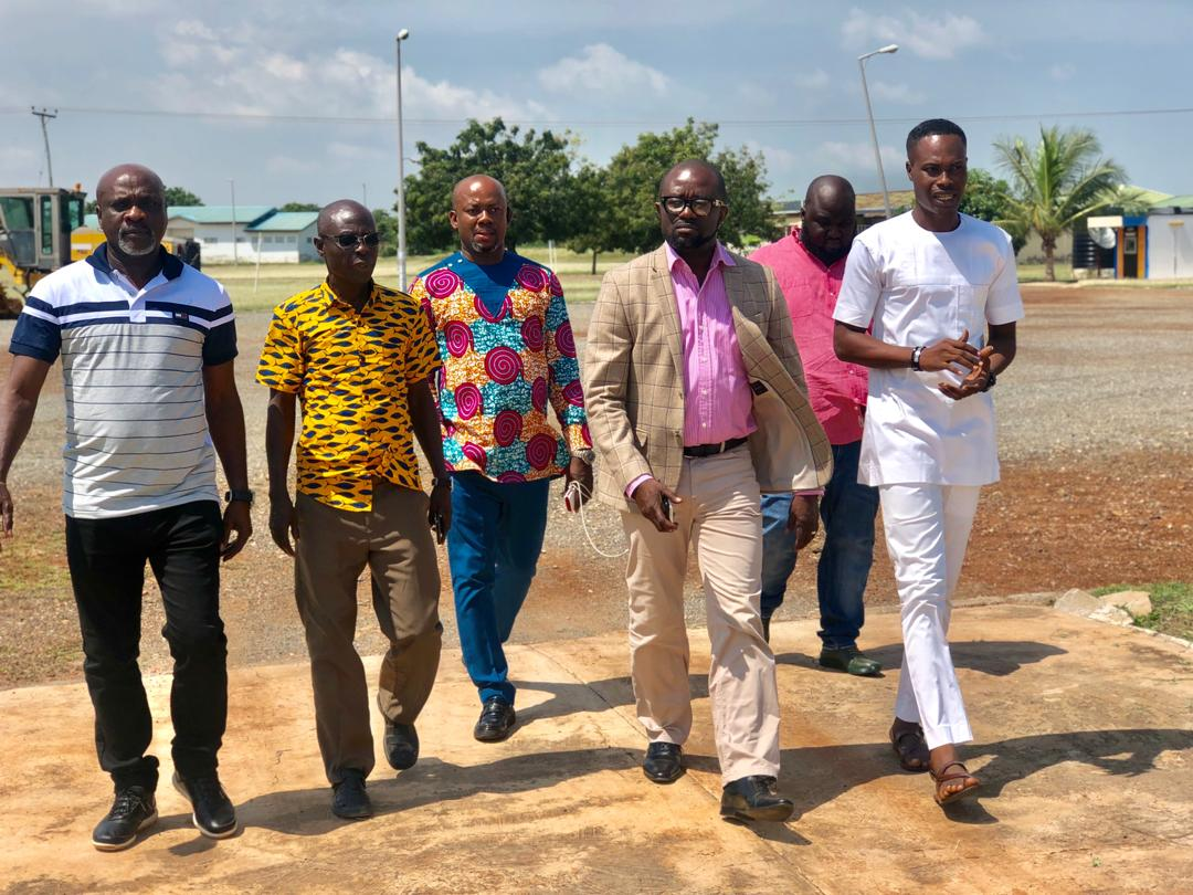 GFA President, Exco members tour GFA technical center at Pampram