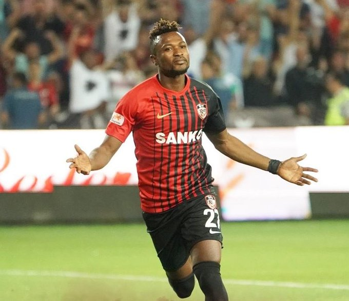 Patrick Twumasi named in Turkish Super Lig team of the week