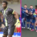 VIDEO: Ghana goalkeeper Razak Braimah gets horny in Spanish league game