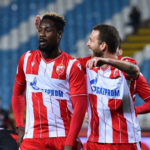 Richmond Boakye- Yiadom scores as Red Star Belgrade pip Macva in Serbian Cup