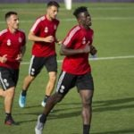 Real Valladolid defender Mohammed Salisu returns to first team training