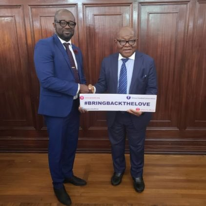 Speaker of Parliament commends GFA for Bring Back the Love campaign