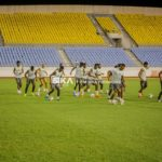 PHOTOS: Black Stars hold first training in Cape Coast