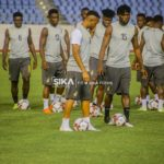 VIDEO: Black Stars return to training today ahead of Sao Tome clash
