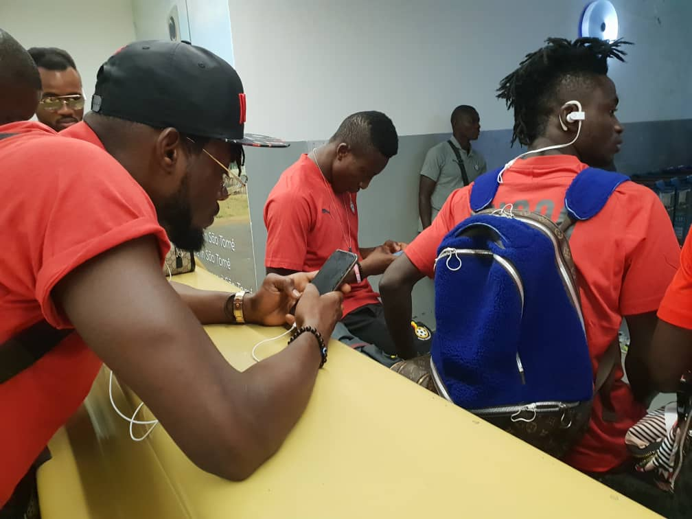 Video: Black Stars arrive in Sao Tome safely for 2021 Africa Cup of Nations qualifier