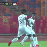 Trending video: Edward Sarpong destroys Cameroon's Eric Mbu Ayuk at 2019 CAF U23 Cup of Nations