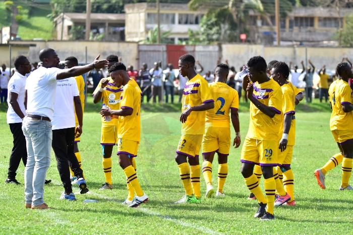 Medeama's home ground closed down for reconstruction of modern 10,000 seater stadium