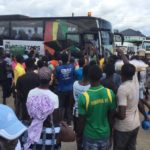 VIDEO: University students mob Black Stars with 'jama' songs ahead of South Africa showdown