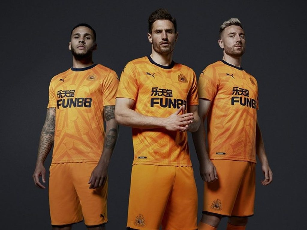 Newcastle's sponsorship by Fun88 will end on 2020