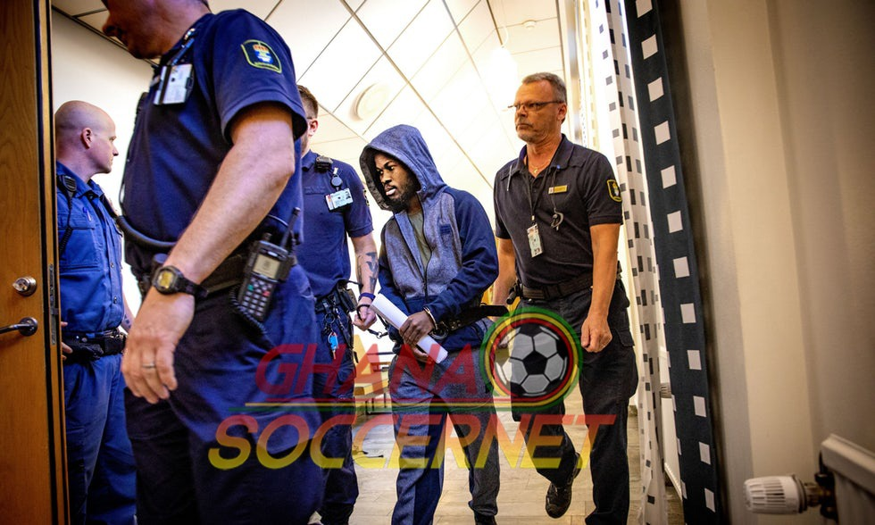 Breaking News: Talented Ghana star Kinglsey Sarfo confirms his release from prison in Sweden