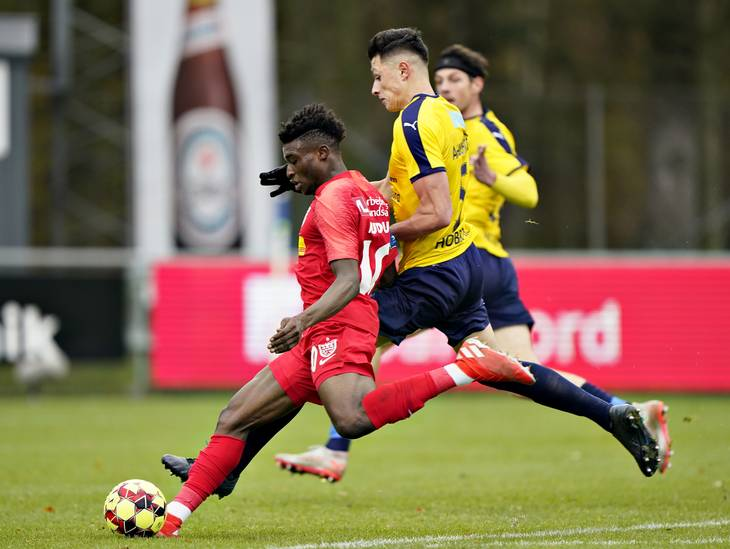 Mohammed Kudus sees red as FC Nordsjaelland share spoils with Lyngby