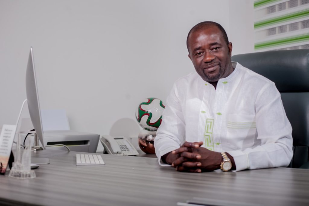 Ghana FA boss Kurt Okraku starts four-year term today