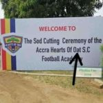 'Hearts of Oat' gaffe mars Ghanaian giants' anniversary celebrations and academy launch