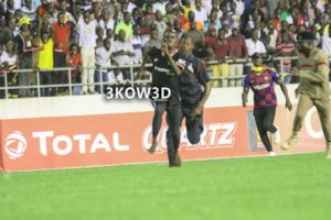 VIDEO: Pitch invader steal show in Ghana's win over South Africa