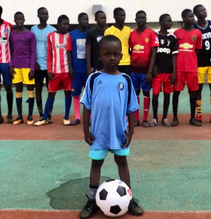 PHOTOS: Four-year-old boy wants a look as National U15 scouting exercise hits Tamale