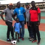 VIDEO: National U15 scouting in Tamale featuring a four-year-old
