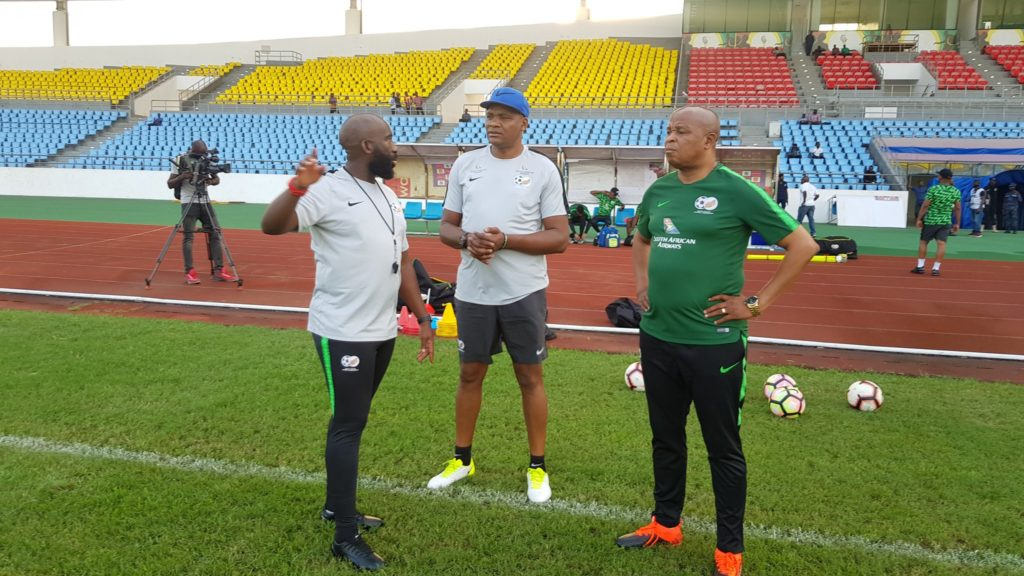 PHOTOS: South Africa hold first training at Cape Coast ahead of Ghana 2021 AFCON qualifier