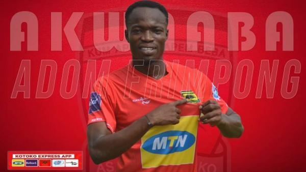 VIDEO: Asante Kotoko snap up midfielder Kwame Adom ahead of GPL season