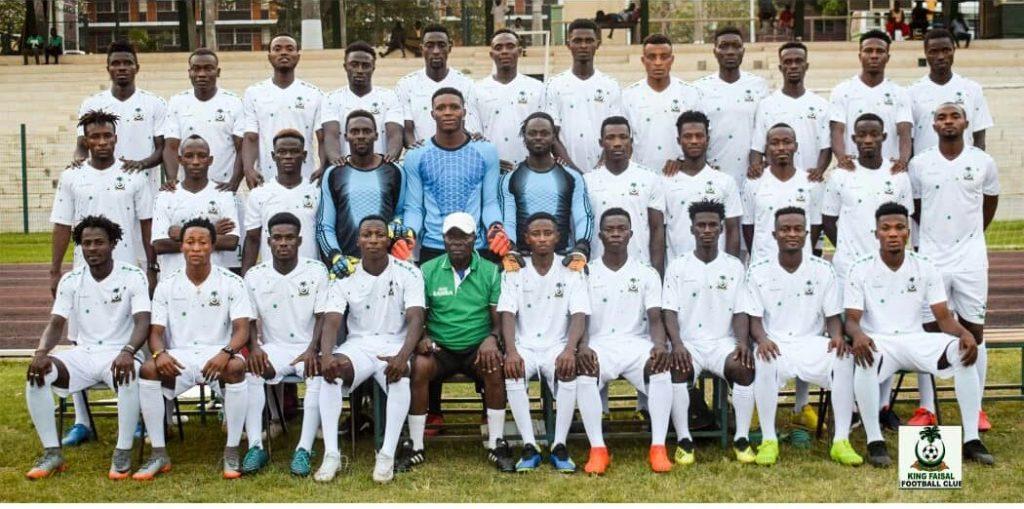 PHOTOS: King Faisal unveil stunning kits ahead of Ghana Premier League season