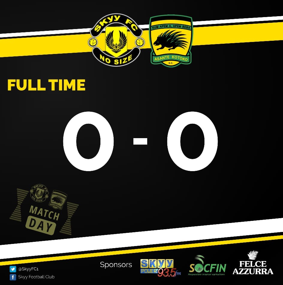 Kotoko draw blank against Skyy FC in pre-season friendly