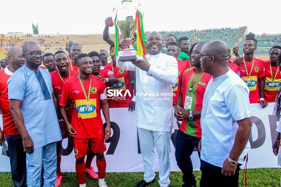 PHOTOS: Asante Kotoko beat Hearts of Oak to win President Cup