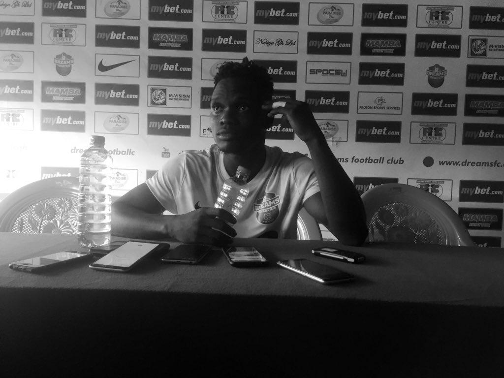 Dreams FC forward Emmanuel Ocran on cloud nine after bagging brace in league opener