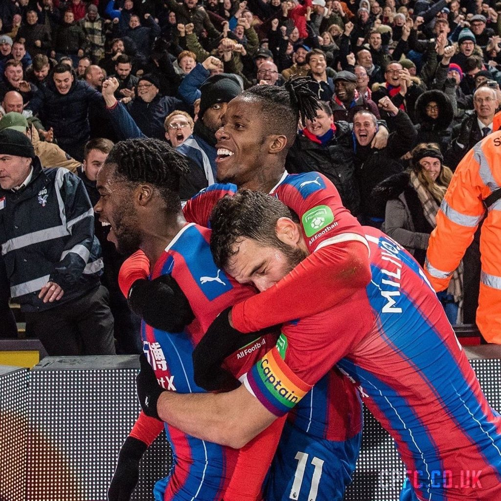 Ghana's Jeffrey Schlupp hails teamwork after powering Crystal Palace to win against AFC Bournemouth