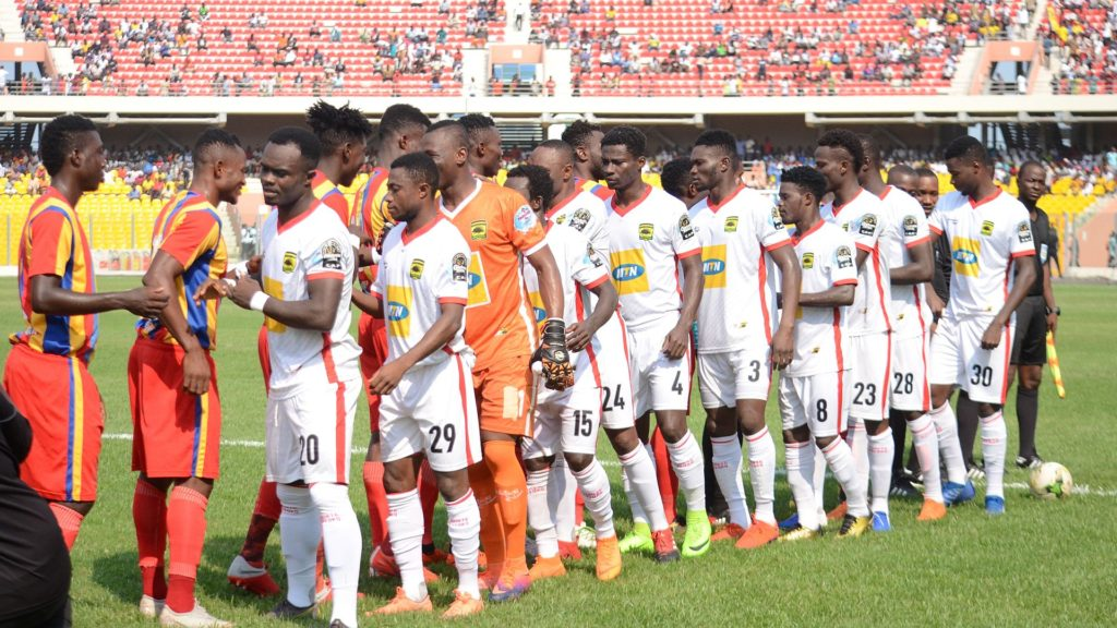 RE-LIVE play-by-play updates: Asante Kotoko 2-1 Hearts of Oak (2019 President Cup)