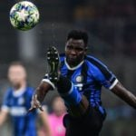 Kwadwo Asamoah plays in midfield for the first time as Inter Milan drop points against AS Roma