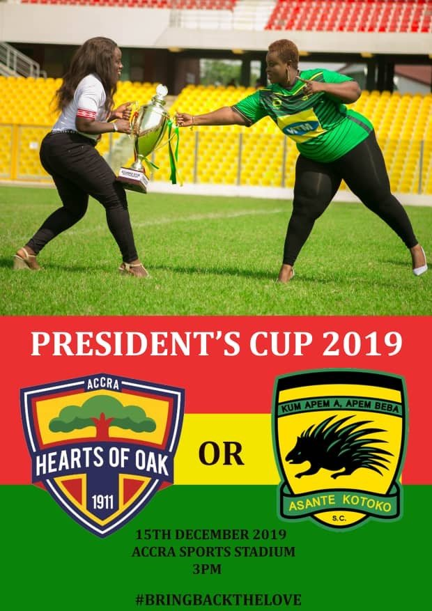 PHOTOS: Bubbly images sparks social media meltdown as Hearts and Kotoko clash in 2019 President's Cup